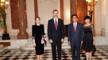 El estilo nipón de la reina Letizia en Japón