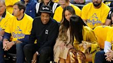 Beyonce's publicist has something to say about that courtside exchange