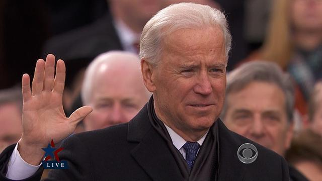 Sotomayor swears in Biden for second term
