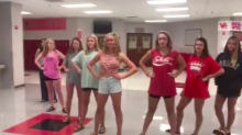 A school has apologised after upsetting students and parents with a 'sexist' dress code video