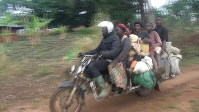 Two wheels good: Giant motorbikes are a lifeline in remote Cameroon