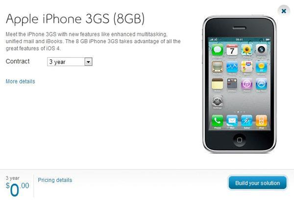 iPhone 3GS falls to free in Canada (now that you're over it)