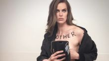 Curvy Model Robyn Lawley Covers Herself in Empowering Statements