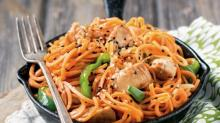 Fifteen-Minute Ginger Chicken Noodles from'One-Pot Paleo'
