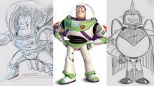Pixar reveals never-before-seen Buzz Lightyear sketches to celebrate launch of Pixar Fest