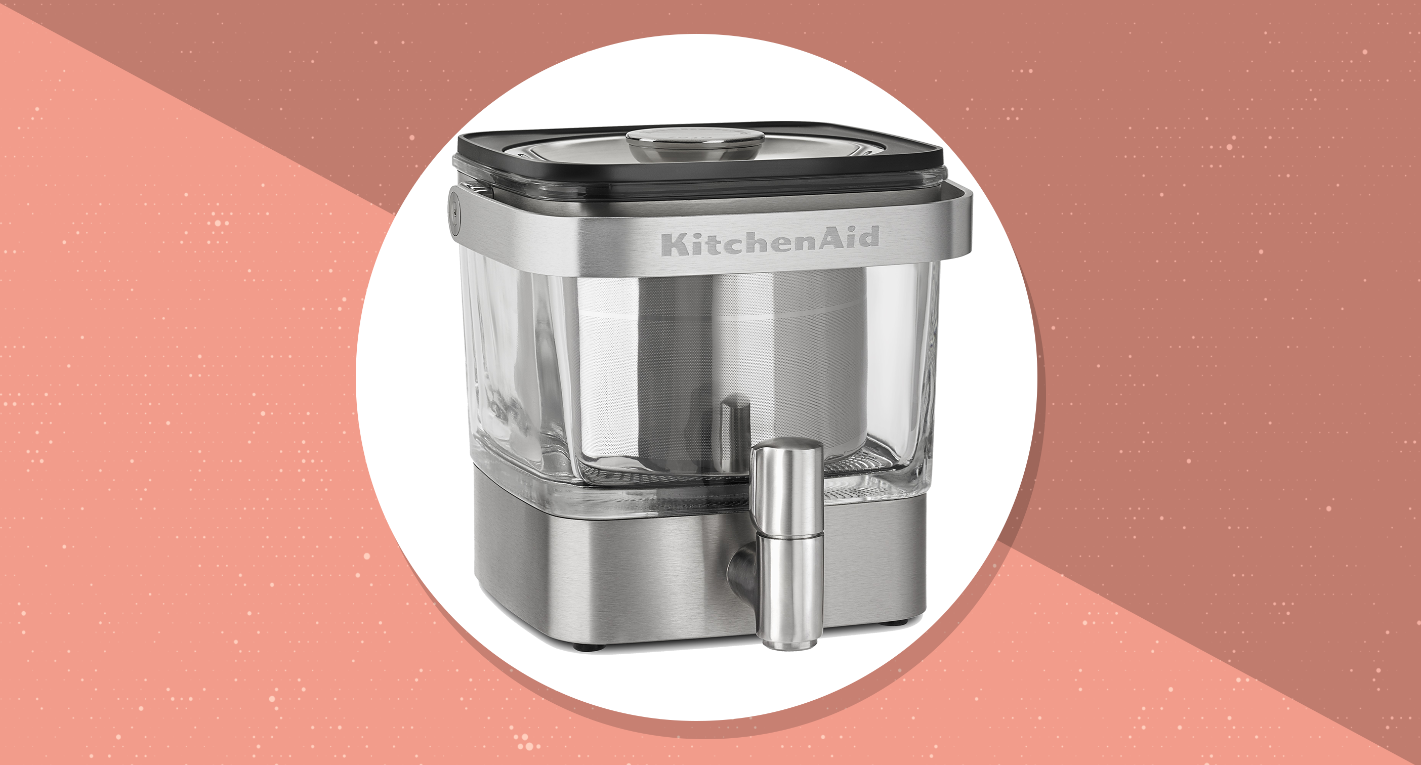 This KitchenAid cold brew coffee maker will transform your mornings and save you a fortune—and it's just $55