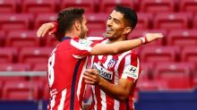 Luis Suárez comes off bench to score Atlético debut double in rout of Granada