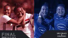 """Como os """"estreantes"""" São Paulo e Cruzeiro chegaram à final do Brasileiro"""