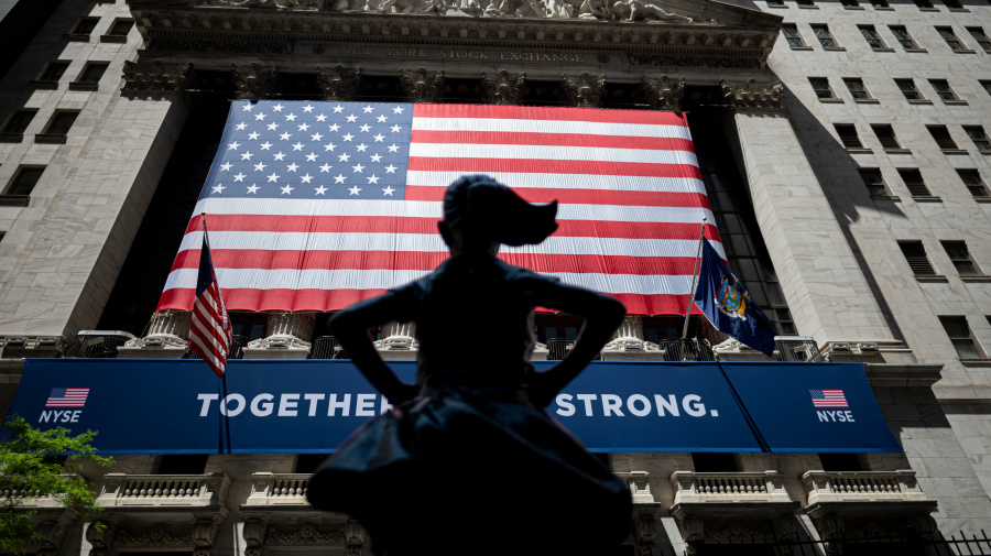 Stocks end May in the green despite virus, China fears
