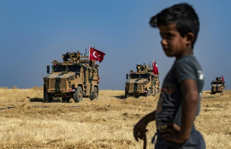 Turkey says it wants to establish a 'safe zone' on the Syrian side of the border (AFP Photo/Delil SOULEIMAN)
