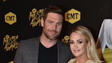 Carrie Underwood & Mike Fisher Just Walked Their First Red Carpet Together Since Her Scary Accident