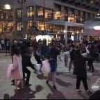 Hundreds attend annual Valentine's Day pillow fight in San Francisco