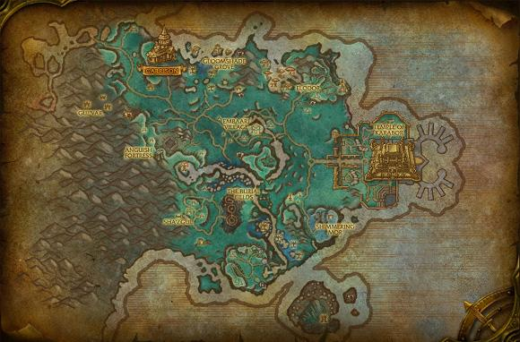 Warlords of Draenor: Shadowmoon Valley preview