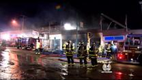 Several Businesses Damaged In 3-Alarm Belmont Fire