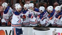Larsson's offensive outburst gives Oilers Game 1 win