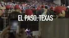 Contrasting realities on immigration as Trump, O'Rourke host dueling rallies in El Paso