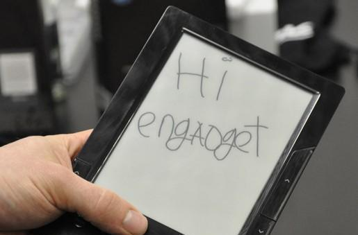 BeBook 2 e-reader revealed and in the wild at CeBIT 2009!