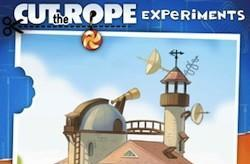 Cut the Rope: Experiments brings some new twists to the popular property