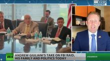 Giuliani's son tells Russian state media people don't want to live in US after father's raid