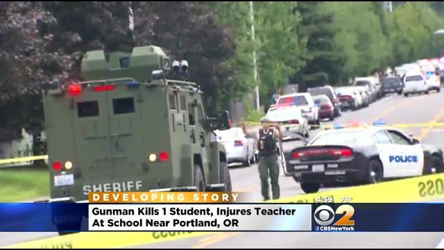 SWAT Teams Storm Oregon High School After Gunman Opens Fire