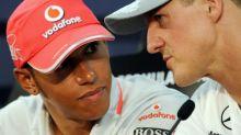 What sets Lewis Hamilton apart from Schumacher is personal development