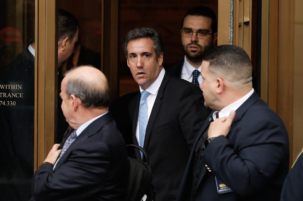 Four months after raids on his office, Cohen pleaded guilty to bank and tax fraud and to violations of campaign finance law (AFP Photo/EDUARDO MUNOZ ALVAREZ)
