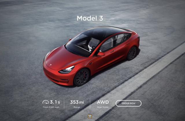 Tesla software update will show range increase for the 2021 Model 3