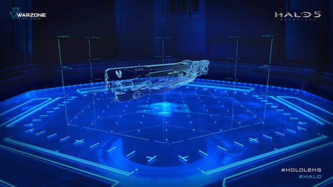 I got Holo-briefed on 'Halo 5'