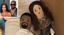 Kim Kardashian's Daughter North, 6, Made a Quarantine Home for Her 'Kim' and 'Kanye' Dolls
