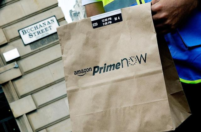 Amazon launches one-hour Prime Now deliveries in Scotland