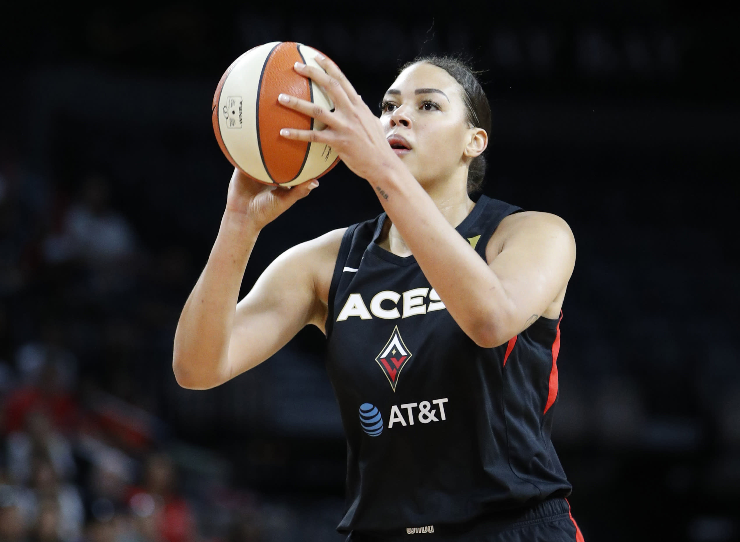 Cambage Australia Fires Basketball