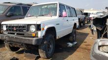 1990 Mitsubishi Montero Reaches End of Its Road in Colorado