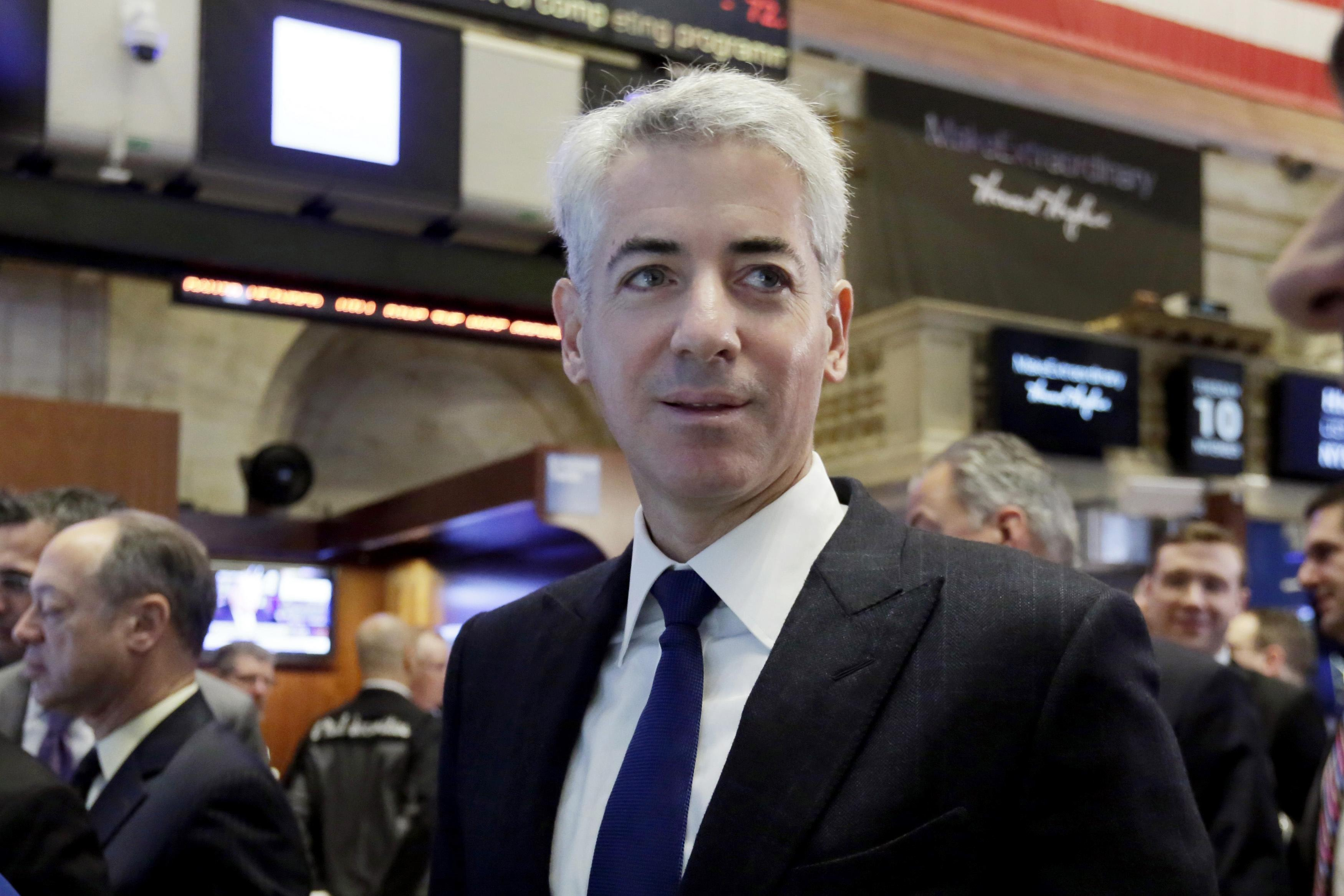 Eat with Bill Ackman, and help a charity: Lunch with billionaire investor hits the auction block