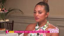 Alesha Dixon feared pregnancy could lose her job
