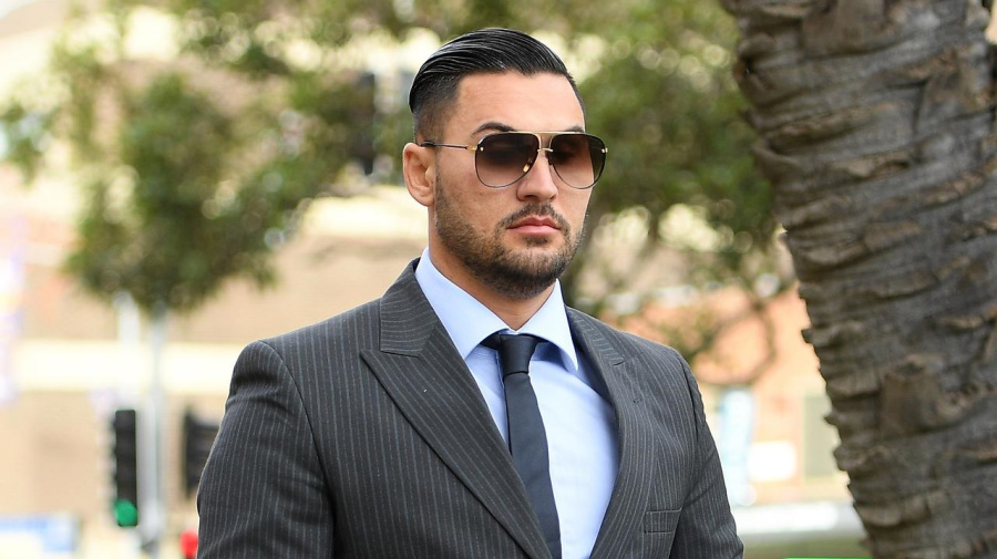 Video of Mehajer arrest played in court