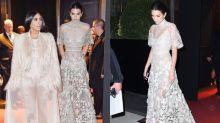 Kim 與 Kendall 姊妹裝客串演出《Ocean's Eight》!Kendall Jenner 穿上的高級訂製服,就是萬千少女的夢中嫁衣!