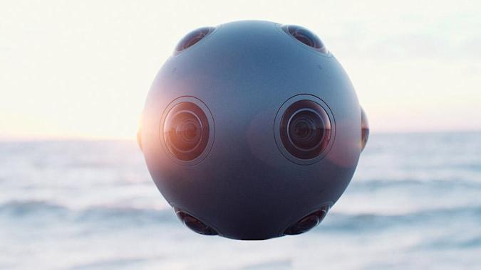 Nokia's virtual reality camera is designed for filmmakers