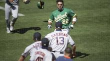 MLB hands down suspension for brawl; Athletics' Ramon Laureano gets six games, Astros coach gets 20