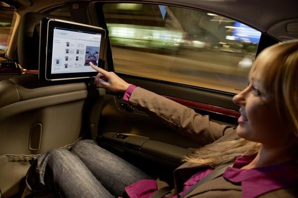 Mercedes-Benz gets in on the factory iPad integration game, makes headrests a little smarter
