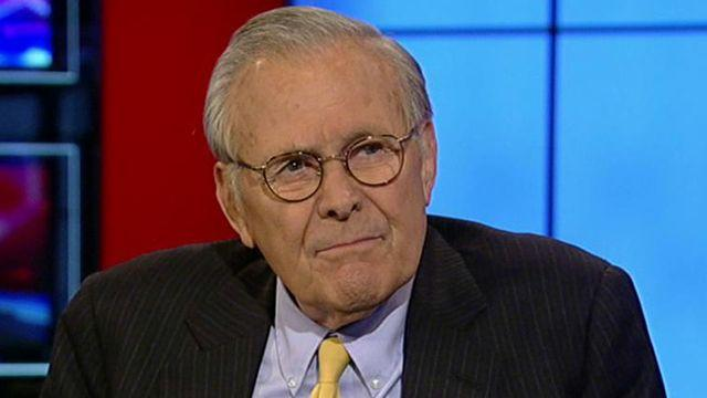 Rumsfeld to WH: 'Climb, conserve and confess'