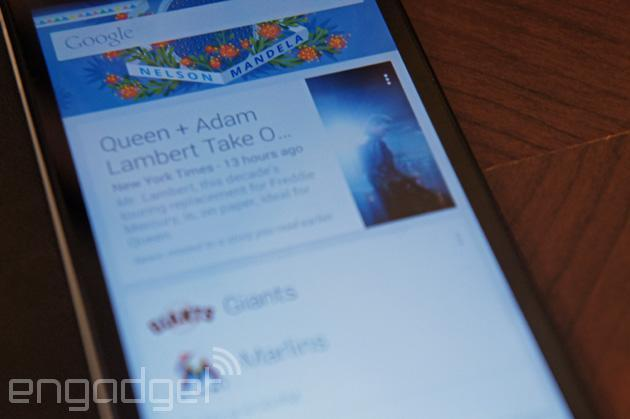 Google Now finally pulls in data from your favorite apps