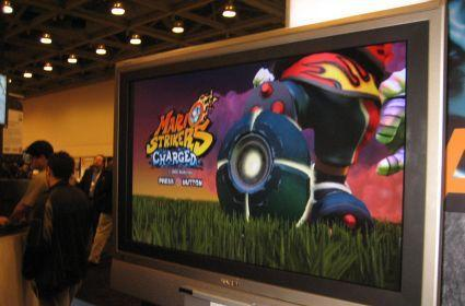 GDC 07: Mario Strikers Charged impressions