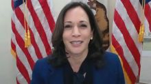 Kamala Harris experiences technical difficulties at SCOTUS confirmation hearing