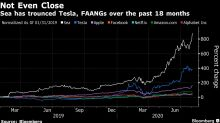 The World's Hottest Stock Is a Money-Losing Tech Giant Soaring 880%