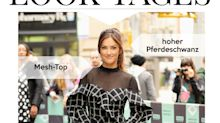 Look des Tages: Minka Kelly im semi-transparenten Karokleid
