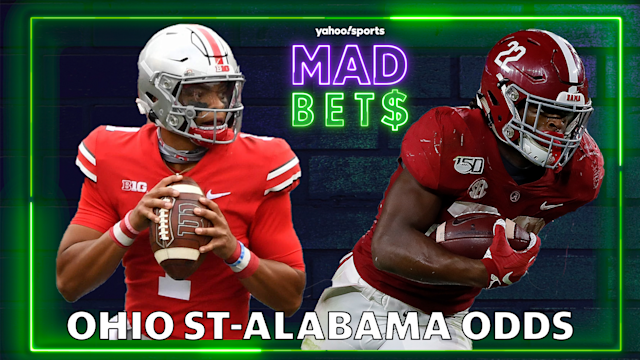 Ncaa Football Betting Lines Odds Alabama Vs Ohio State