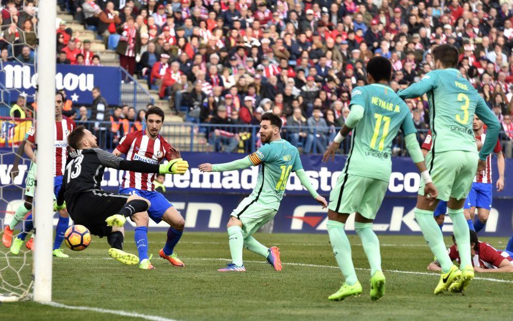 西甲》梅西進致勝球 巴薩客場2-1力克馬競