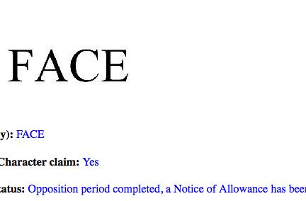 So why did Facebook just trademark 'Face'?