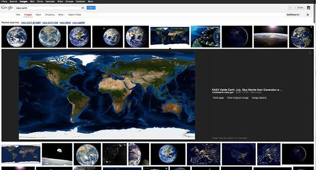 Google Images gets redesigned, focuses on speed and metadata