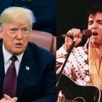Trump honoring Elvis with a Medal of Freedom award sparks online debate on racism
